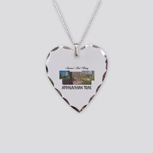 Appalachian Trail Americabest Necklace Heart Charm